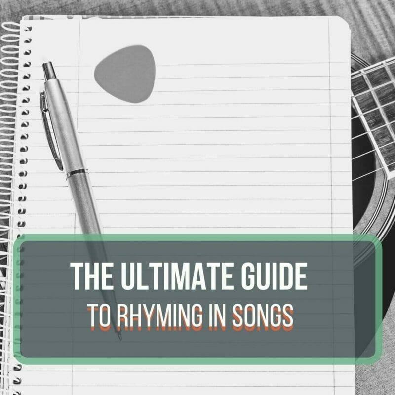 rhyming in songs